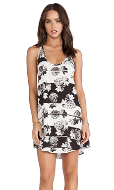 ISLA & LULU Big Things Dress in Floral Stripe