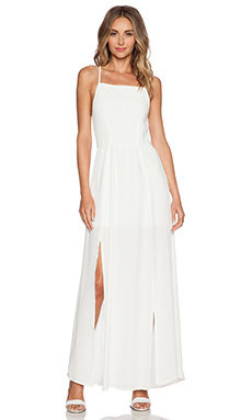 ISLA & LULU Fondest Dreams Maxi Dress in White