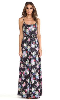 ISLA & LULU Lush Layers Maxi Dress in Rosa Print