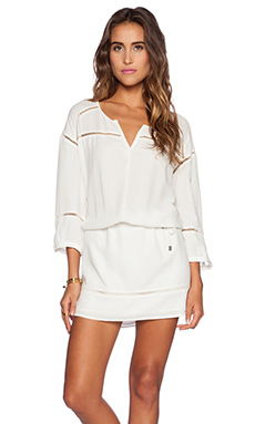 IKKS Paris Mini Dress in White