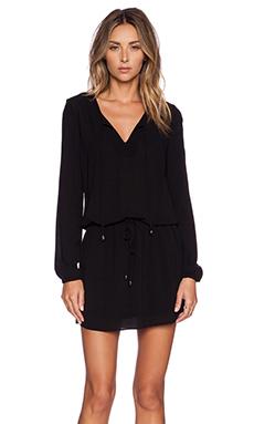 IKKS Paris Longsleeve Dress in Black