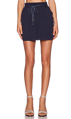 IKKS Paris Mini Skirt in Navy