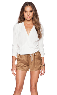 IKKS Paris Long sleeve Romper in Light Brown