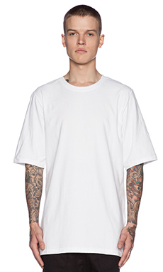 I Love Ugly Otis Tall Tee in White