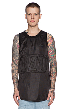 I Love Ugly Basketball Jersey in Black