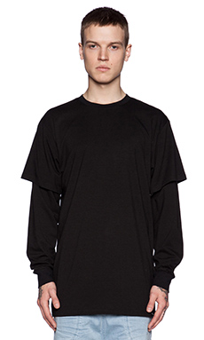 I Love Ugly Otis Long Sleeve Tee in Black