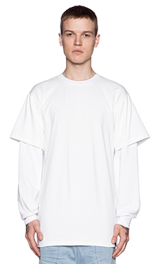I Love Ugly Otis Long Sleeve Tee in White