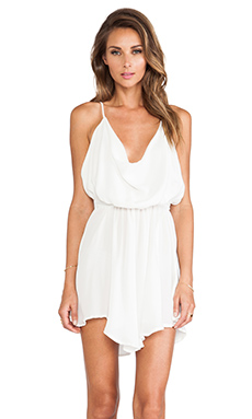 Indah Tahani Cocktail Dress in Ivory