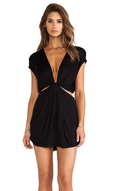 Indah Rae Cutout Mini Dress in Black