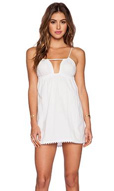 Indah Chloe Mini Dress in White