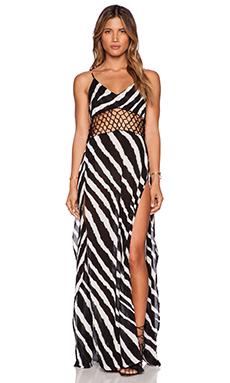 Indah Ulima Maxi Dress in Zebra