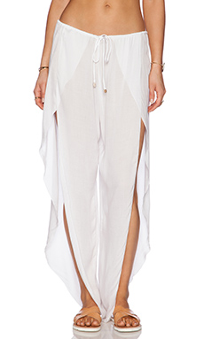 Indah Val Pant in White