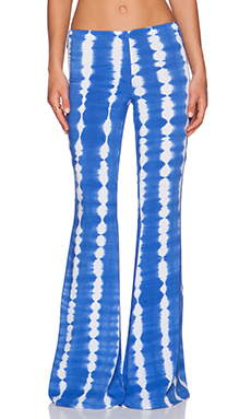 Indah Honour Bell Bottom in Garis Blue