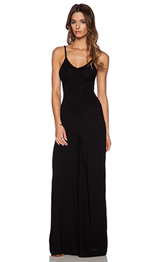 Indah Bianca Jumpsuit in Black