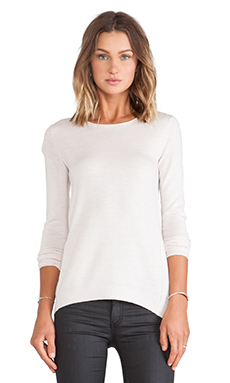 Inhabit Cashmere Crew Sweater in Damask