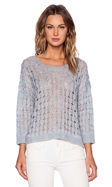 Inhabit Casshmere Crew Neck Sweater in Sky