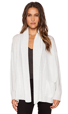 Inhabit Cashmere Cardigan in Cloud