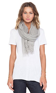 Inhabit Cashmere Scarf in Sterling
