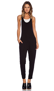 Insight Twisted Overall in Black