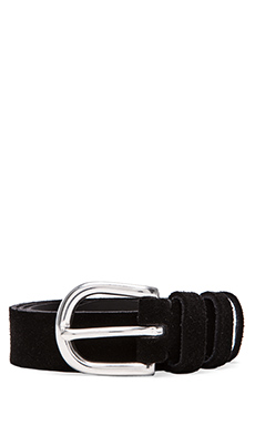 IRO Edamy Belt in Black