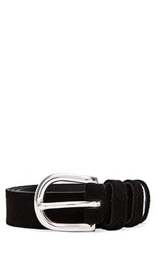IRO Edamy Belt in Black