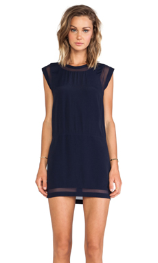 IRO Cilia Mini Dress in Navy