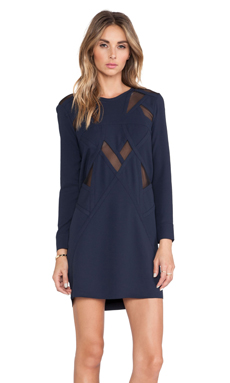 IRO Bonica Dress in Navy