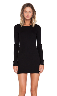 IRO Sibilla Sweater Dress in Black