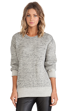 IRO Manouka Sweater in Beige & Black