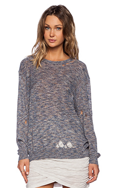 IRO Yolita Sweater in Mixed Grey
