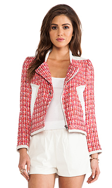 IRO Aubrey Jacket in Red Multico