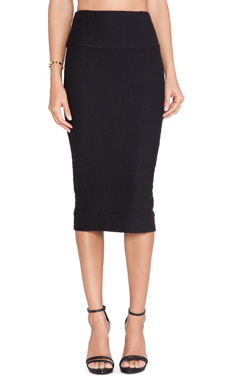 IRO Kaya Skirt in Black