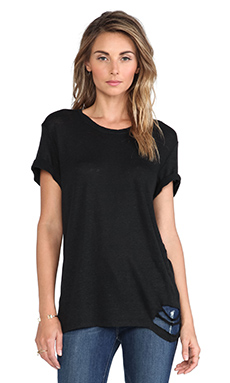 IRO Poppy Tee in Black
