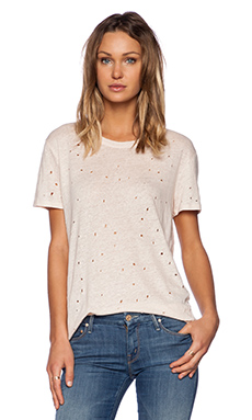 IRO Clay Tee in Cream Pearl