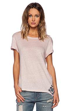 IRO Poppy Tee in Old Pink