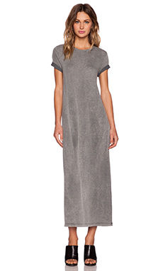 IRO . JEANS Gaye Maxi Dress in Dark Grey