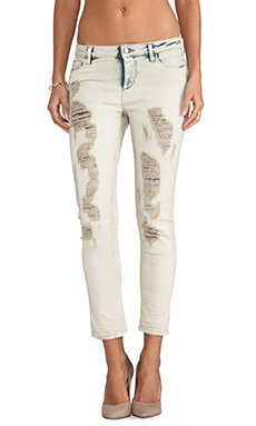 IRO . JEANS Terry Skinny in Clay