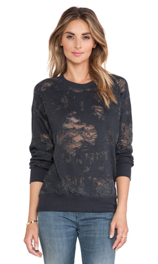 IRO . JEANS Nona Sweatshirt in Dark Grey