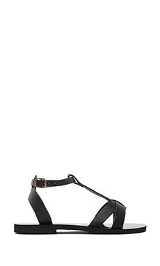 isapera Iris Sandal in Black