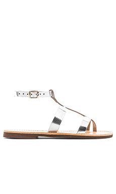 isapera Azalea Sandal in Silver