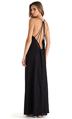 Issa de' mar St. Bart's Maxi in Black