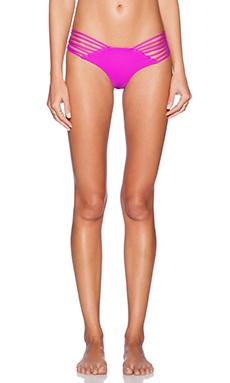 Issa de' mar Sunset Bikini Bottom in Berry & Shark