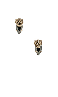 Iosselliani Earrings in Black