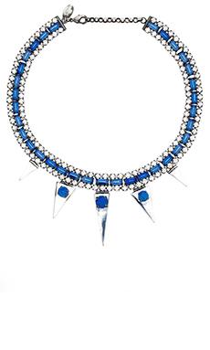Iosselliani Necklace in Silver & Blue