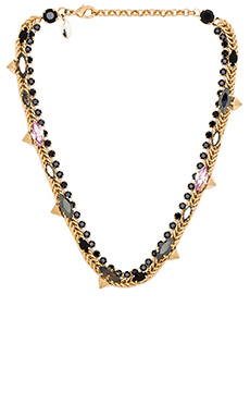 Iosselliani Necklace in Gold & Black