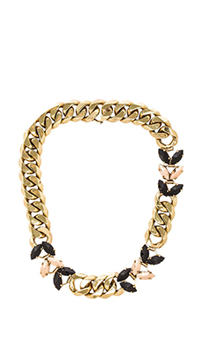 Iosselliani Thick Chain Necklace in Gold