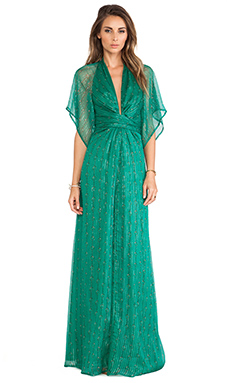 Issa Pollyanna Maxi Dress in Jade