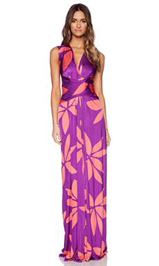 Issa Hazelle Maxi Dress in Fuschia