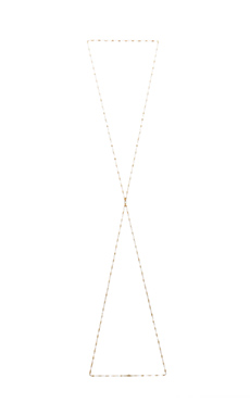 Jacquie Aiche Vintage Chain Body Chain in Yellow Gold