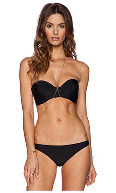Jacquie Aiche Reversible Bodychain in Gold